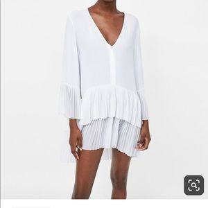 Zara NWT White dress